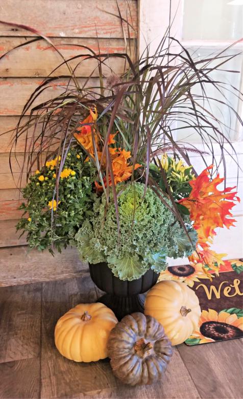 Make & Take A Fall Porch Pot